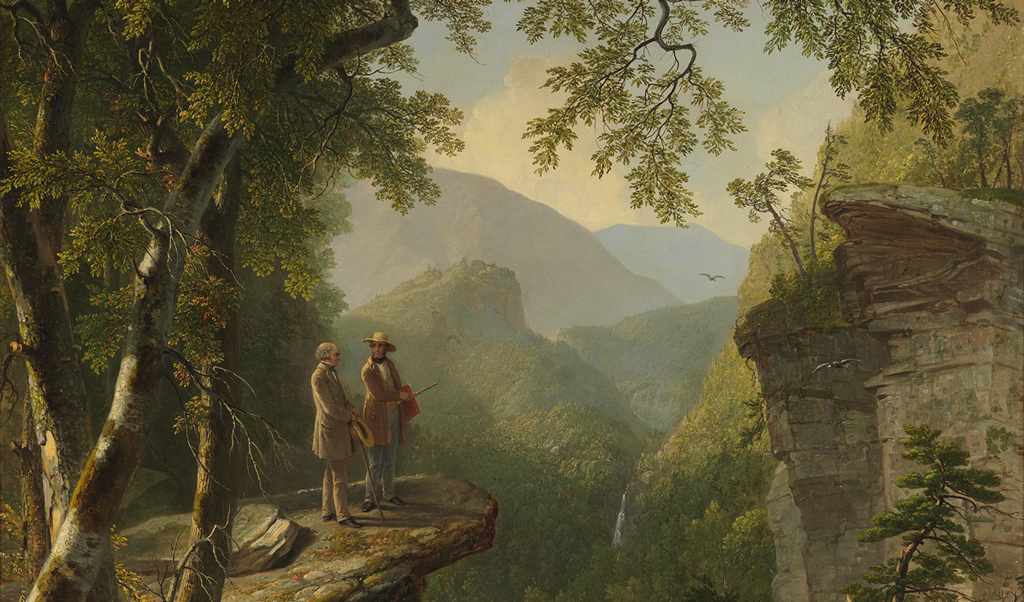 "Asher Brown Durand ""Kindred Spirits"" (1849)"